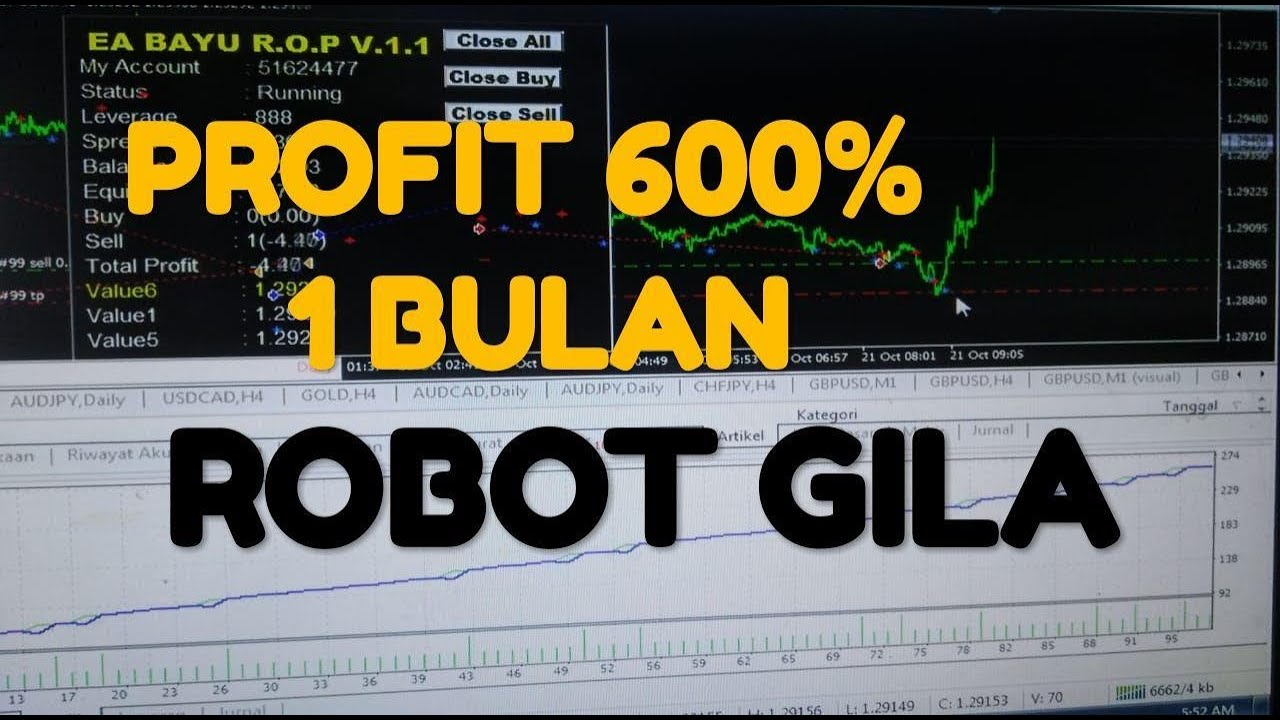 ROBOT EA FOREX TERBAIK - YouTube