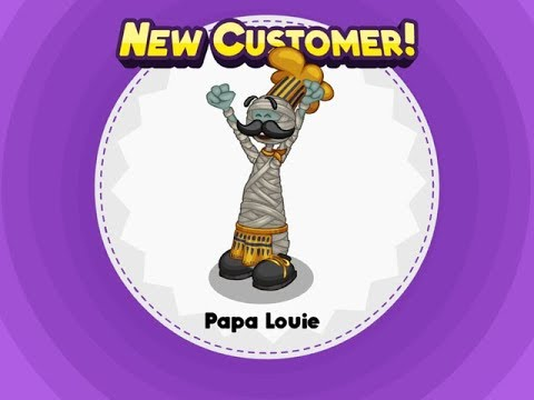 Papa's Pizzeria HD - Unlocking Papa Louie!
