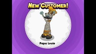 Papa's Pizzeria HD - Unlocking Papa Louie!