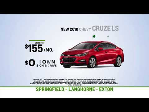 Reedman Toll Auto Group Chevrolet March Specials