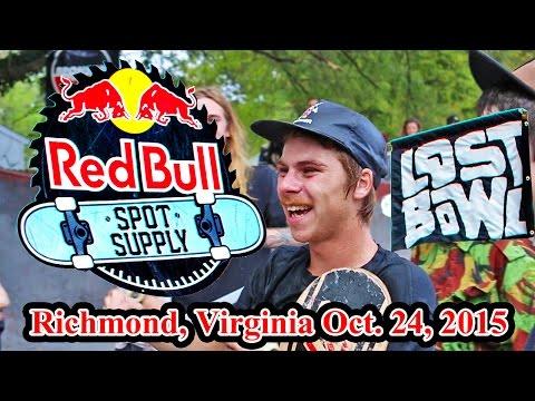 Redbull Spot Supply Skate Contest 2015 @ Lost Bowl Richmond, VA