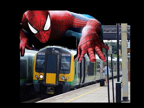 HELP: Strange trainspotting spiderman ritual - please help these poor souls!