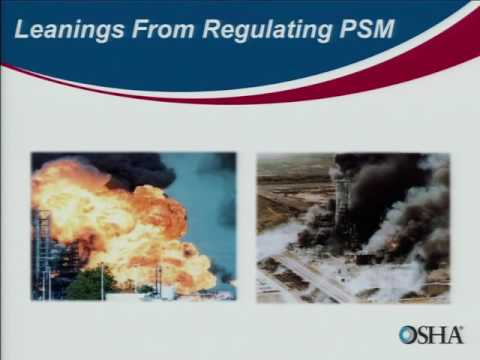Learning from OSHA Investigations of PSM   regulated Operations