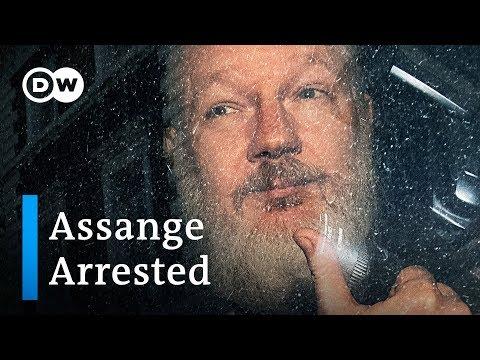 Wikileaks' Julian Assange arrested by British police | DW News