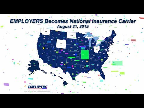 We're National! EMPLOYERS Completes National Expansion Initiative