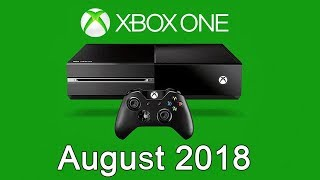 XBOX ONE Free Games - August 2018