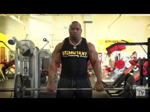 MUTANT in a MINUTE Upright Rows with Johnnie O Jackson