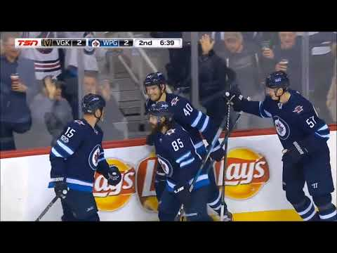 Top 10 Winnipeg Jets Goals 2017-18 Season