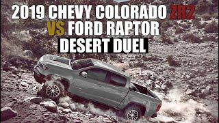 2019 Colorado ZR2 vs Ford Raptor Vs New Ranger