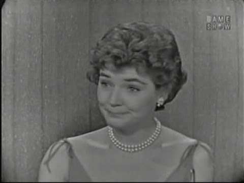 What's My Line? - Polly Bergen; Tom Poston [panel] (Aug 31, 1958)
