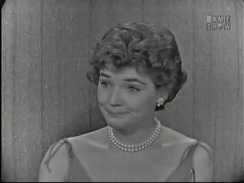 What's My Line?  Polly Bergen; Tom Poston panel Aug 31, 1958