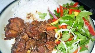 How To Make Caribbean Stew Chicken.