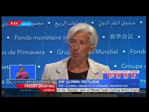 IMF projects a re-bound in growth in 2017 due to World economies realignment