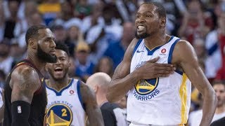 (LIVE) KEVIN DURANT SNATCHES THE THRONE FROM LEBRON JAMES IN GAME 3 OF THE FINALS WITH 43PTS!