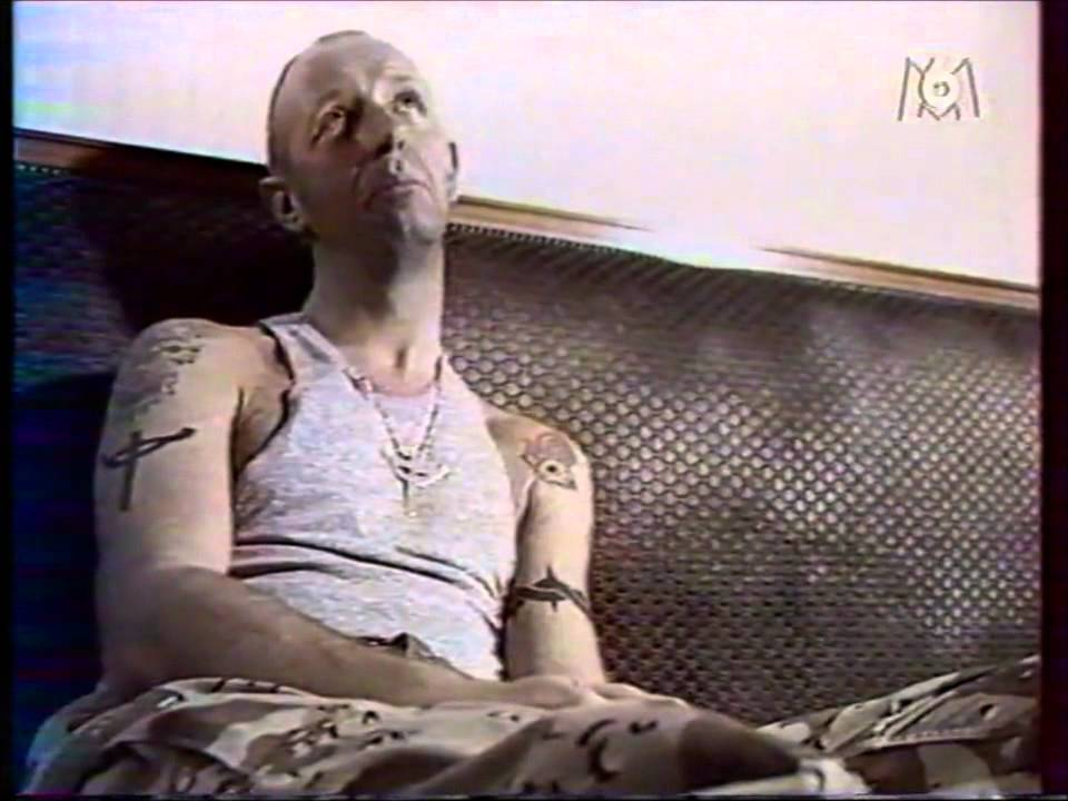 rob halford interview  french tv 1990