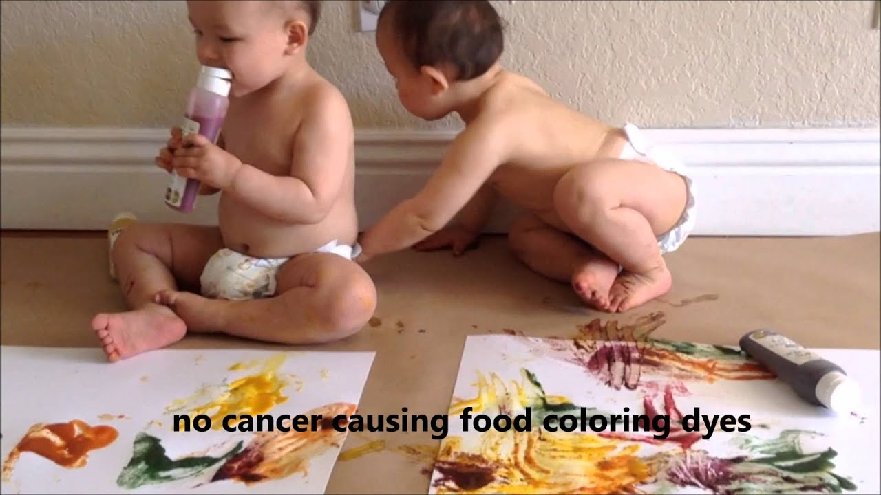 Is Food Coloring Safe For Babies