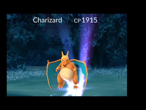 Pokemon Go Charizard First Time Encounter In The Wild