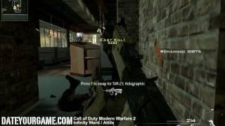 Call of Duty Modern Warfare 2 Spec Ops 7 Bravo Body Count Veteran Walkthrough