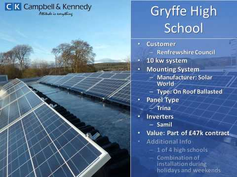 Campbell & Kennedy Solar Project Portfolio
