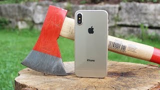 iPhone X vs Axe