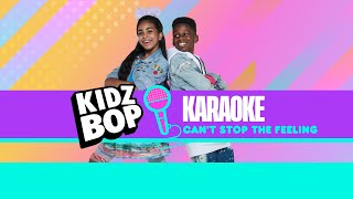 KIDZ BOP Kids - Can't Stop The Feeling! (Karaoke)