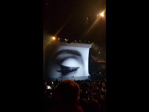 Adele - Phoenix, AZ - Intro to Hello 11/21/2016