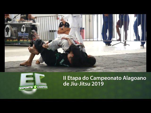II Etapa do Campeonato Alagoano de Jiu-Jitsu 2019