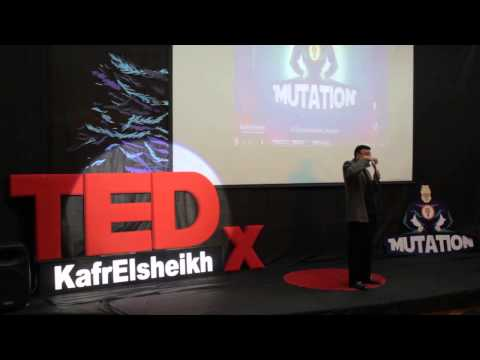 The Unlimited Horizon of an Open Mind : Basel EL Hini at TEDxKafrElsheikh