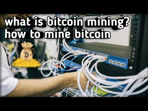 what is bitcoin mining?how to mine bitcoin?