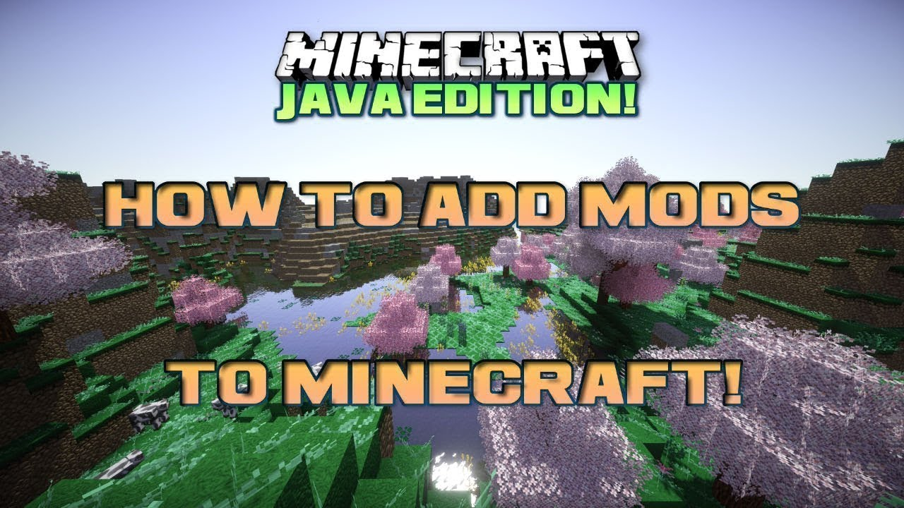 How To Add Mods To Minecraft Java Edition Youtube