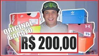 Tênis ORIGINAL e BARATO até R$200,00