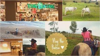 VLOG NA BAHIA ♥ Fazenda, Salvador, Zara, Tok Stok, Fabrica.. Thumbnail