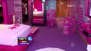 Hotel Bintang Lima dengan Kamar Bernuansa Barbie -NET12