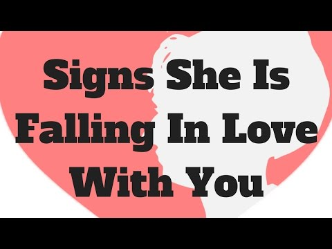 Signs she fell in love with you