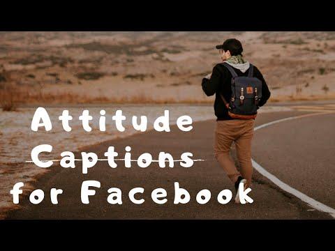 Top 15 💯Attitude Captions For Your Facebook Photos  Single Boy Attitude Status
