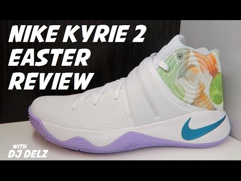 d33ef6f68f3a Nike Kyrie 2 Easter Shoe Review With Dj Delz - YouTube