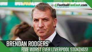 Top Five Worst Liverpool Signings by Brendan Rodgers | www.FootballFanCast.com
