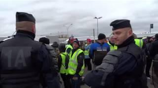 Gilets Jaunes : Christophe Castaner en visite dans Eure-et-Loir