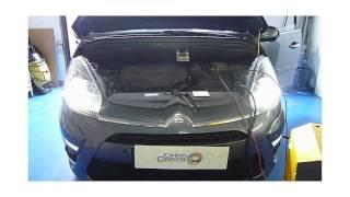 Perte de puissance sur Citroën C4 Picasso 2L HDi avec Carbon Cleaning