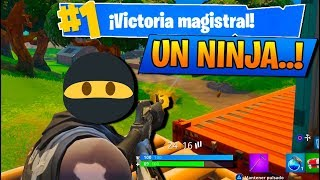 UN NINJA..!! Fortnite: Battle Royale (PS4)