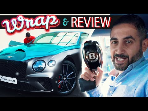 New Bentley Continental GT Wrapped and Reviewed
