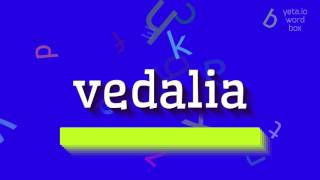 "How to say ""vedalia""! (High Quality Voices)"
