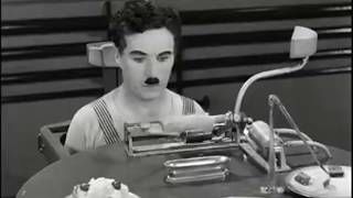 Charlie Chaplin - automatic dining table test | funny video,By legends of entertainment.