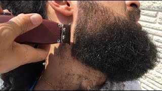 Perfect BEARD and Man Bun | Trimmers Only! | Tip #22 | 6 Minute Tutorial HD