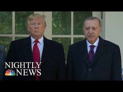 Trump Welcomes Turkey's