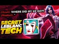 they pick tanks to counter my Leblanc but they didnt know I have secret Tech...Liandry's Torment.