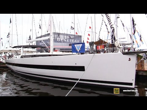 2017 Beneteau Yacht 62 - Deck and Interior Walkaround - 2016 Annapolis Sailboat Show