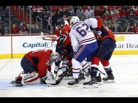 Montreal Canadiens vs Washington Capitals - January 19, 2018 | Game Highlights | NHL 2017/18
