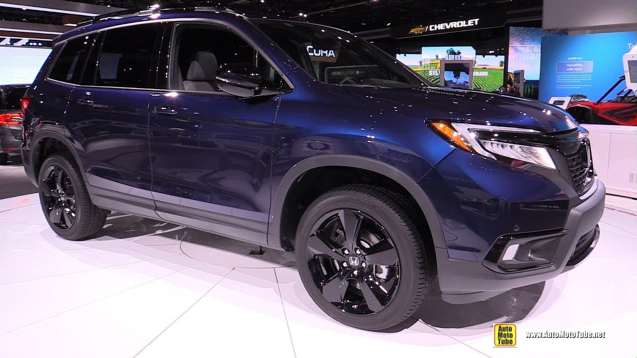 2020 Honda Passport Exterior And Interior Walkaround Detroit Auto Show 2019