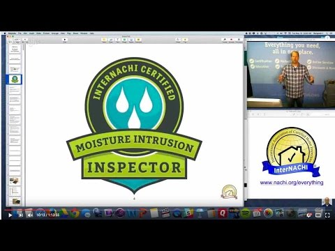 How to Inspect for Moisture Intrusion Defects Class